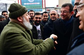 Ekrem İmamoğlu Sultanbeyli'de ilginç diyaloglar