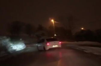 İstanbul'da kar altında drift yapan magandalara rekor ceza
