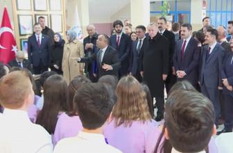 Cumhurbaşkanı Erdoğan 'Hedef 2023' marşını dinledi