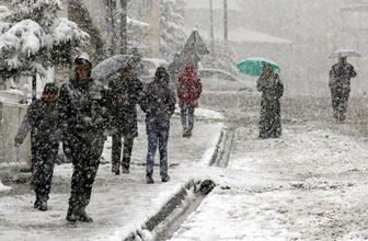 Meteoroloji 6 il için uyardı! Kar geliyor
