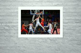 A Milli Erkek Basketbol Takımı, İspanya'ya farklı yenildi