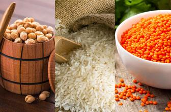 Tanzim nohut, mercimek ve pirinç  fiyatlar belli oldu