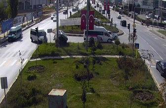 Van'da trafik kazaları MOBESE'ye yansıdı!