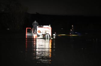 Bursa'da otomobil Babasultan barajına düştü: 2 ölü, 3 yaralı!