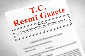 Erdoğan imzaladı atama kararları Resmi Gazete'de yayımlandı