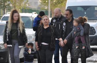 Adana'da uyuşturucu satıcısı gelin kaynana yakalandı