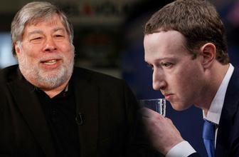 Apple'ın kurucusundan Zuckerberg ile ilgili çarpıcı sözler!