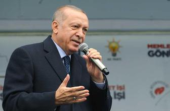 Cumhurbaşkanı Erdoğan'dan Erzurum'da dikkat çeken mesajlar