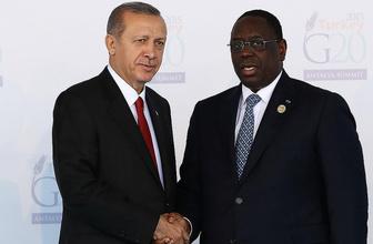 Erdoğan, Senegalli mevkidaşı Sall'i kutladı