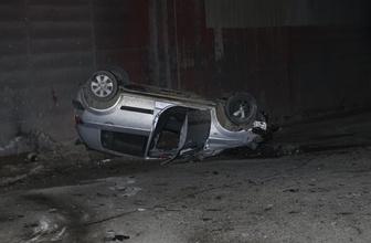 Ankara'da çok sayıda trafik kazası meydana geldi