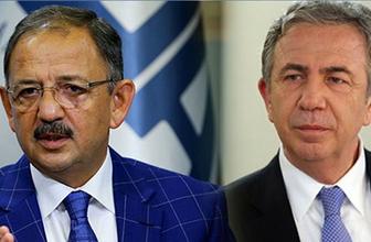Mansur Yavaş'la Mehmet Özhaseki arasındaki militan tartışması büyüyor