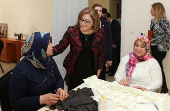 Gaziantep Büyükşehir projeleriyle 90 bin kadına ulaştı