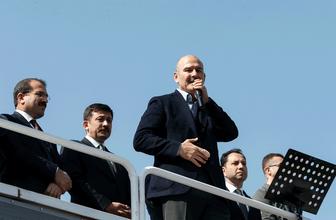 İçişleri Bakanı Süleyman Soylu İzmir'de konuştu Millet İttifakı'na yüklendi