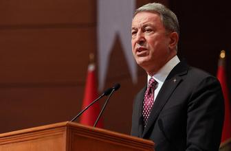 Milli Savunma Bakanı Hulusi Akar'dan Rusya'ya kritik telefon