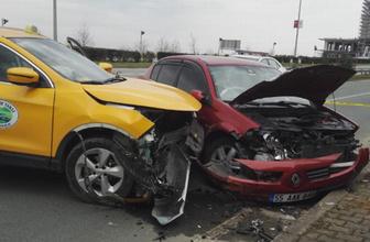 Çaykur Rizesporlu futbolcu Morozyuk'un eşi kaza yaptı
