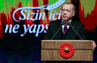 """Erdoğan: """"Tarım sektöründeki spekülatörleri bir milli güvenlik sorunu olarak görüyoruz"""""""