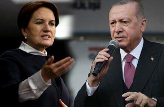 Cumhurbaşkanı Erdoğan Meral Akşener hakkında suç duyurusunda bulundu!