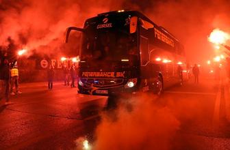 Fenerbahçe'ye Başakşehir maçı öncesi taraftar desteği