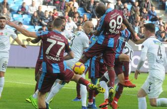 Trabzonspor Akhisarspor maçı özet ve golleri