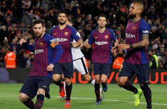 Barcelona'dan sahasında 3 gollü geri dönüş