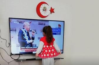Cumhurbaşkanı Erdoğan minik hayranını İzmir mitingine davet etti