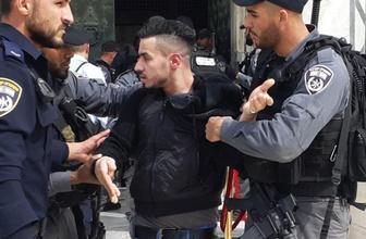 İsrail polisi Mescid-i Aksa imamlarına saldırdı