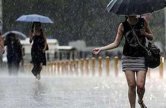Meteoroloji saat verip uyardı! Sağanak yağış geliyor