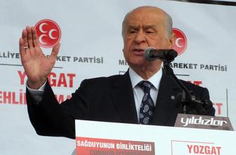 MHP Lideri Devlet Bahçeli'den son dakika açıklamalar!