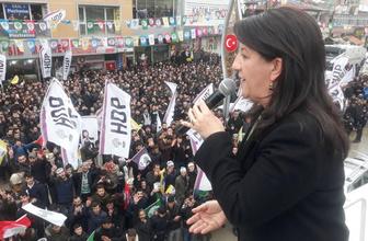 HDP Eş Genel Başkanı Pervin Buldan Erzurum'da konuştu