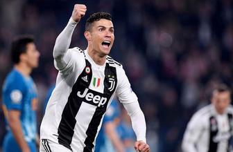 Ronaldo coştu Juventus çeyrek finale yükseldi