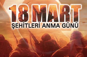 18 Mart Çanakkale Zaferi ile ilgili şiirler 4 kıtalık-2 kıtalık
