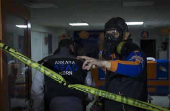 Ankara'da kargo şirketinde zehirli gaz şüphesi