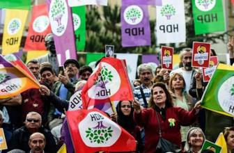 HDP'nin pankartı mahkeme kararıyla kaldırıldı!