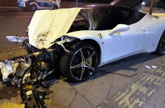 Ankara'da milyonluk ölümlü kaza lüks araç sürücü kaçtı