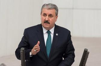 BBP lideri Mustafa Destici'den bomba ima milleti kötüleyecek noktada değiliz