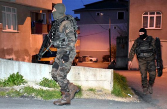İzmir'de terör operasyonu: Çok sayıda gözaltı var