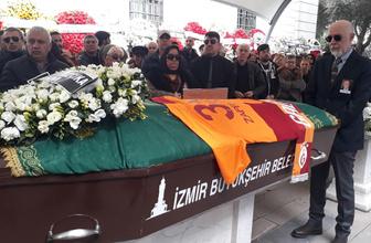 Demet Akbağ'ın eşi Zafer Çika'nın cenazesi Çeşme'ye uğurlandı