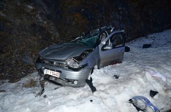 Adıyaman'da öğretmen çifti kaza ayırdı