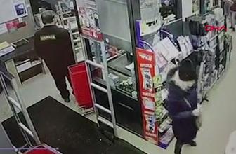 Rusya'da şoke eden olay! Marketin zemini çöktü