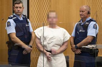 Camiye saldıran terörist Brenton Tarrant'tan duruşmada dikkat çeken işaret