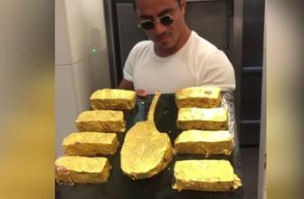 Nusret'in altın kaplama et videosu olay oldu!