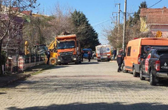 Silivri'de son dakika define faciası! 2 kişi göçük altında kaldı