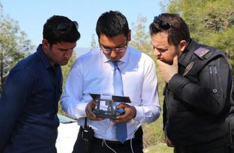 Bacanağını öldüren şüpheli ormanda drone ile aranıyor