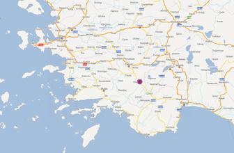 Son dakika deprem haberi Denizli'de orta büyüklükte sarsıntı