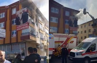 Ankara'da korkutan yangın! 6 kişi yaralandı