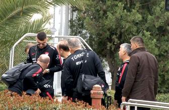 A Milli Futbol Takımı Arnavutluk'a gitti