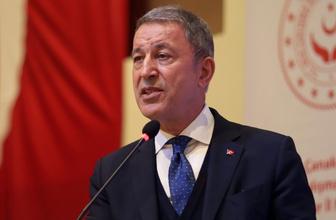 Milli Savunma Bakanı Hulusi Akar'dan pençe harekatı açıklaması