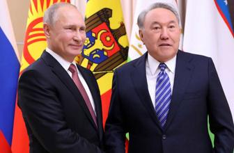 Nazarbabayev'in istifasının ardından Putin'den ilk açıklama!