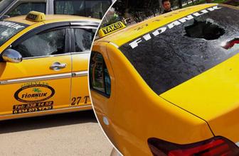 Gaziantep'te taksicilerin yolcu kavgası kanlı bitti: 2 yaralı