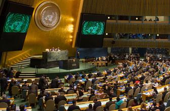 Birleşmiş Milletler İsrail'i kınayan tasarıyı kabul etti